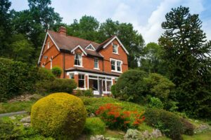 Dog friendly rooms at Mynd House