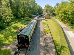 A quirky experience at Coalport Station Holidays