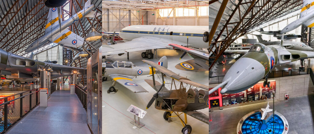 Kids activities at RAF Museum Cosford